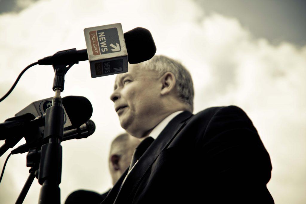 Jarosław Kaczyński médiá
