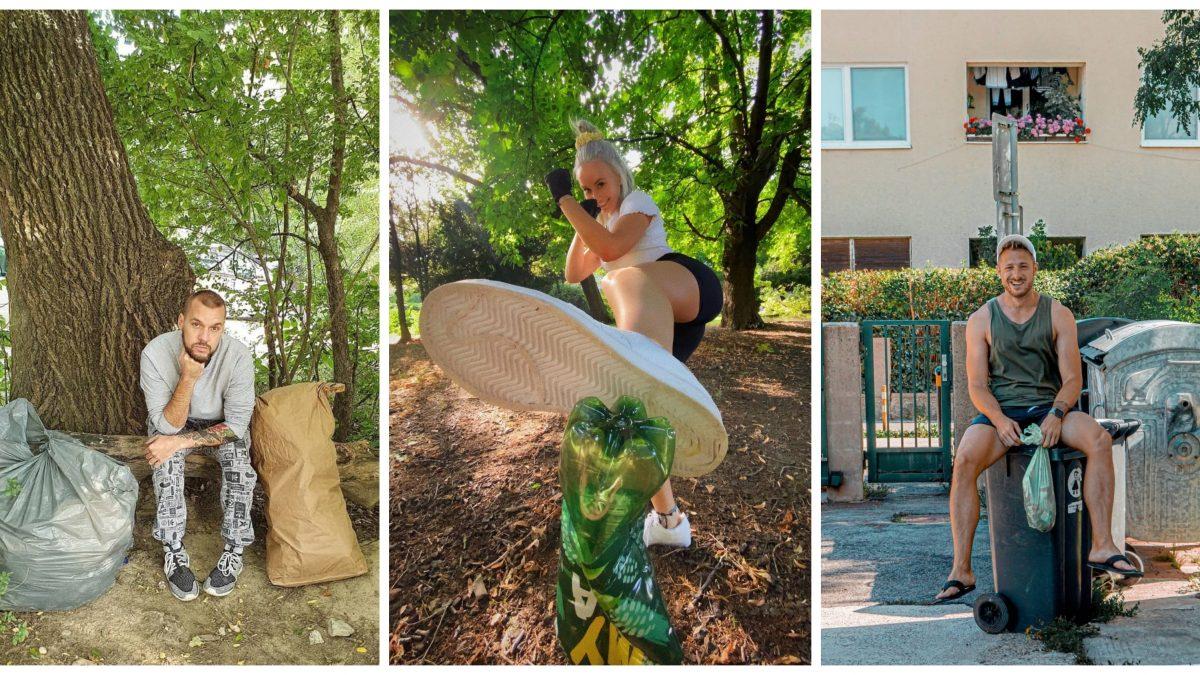 Greenfluenceri zbierajú odpadky a robia osvetu ekológii. Na niečo prospešné pre planétu si však zvyknúť úplne nevedia