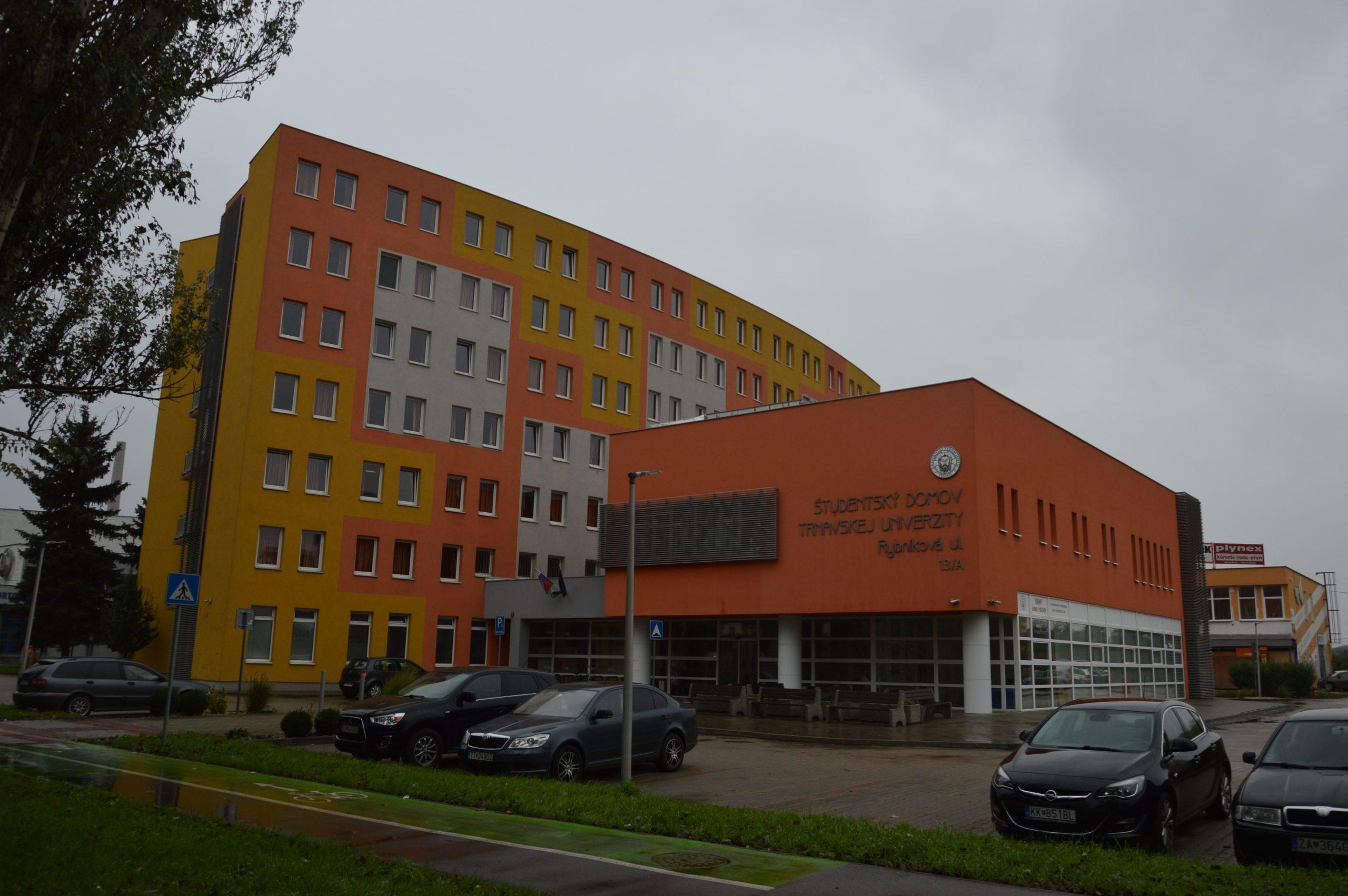 internát trnavská univerzitra