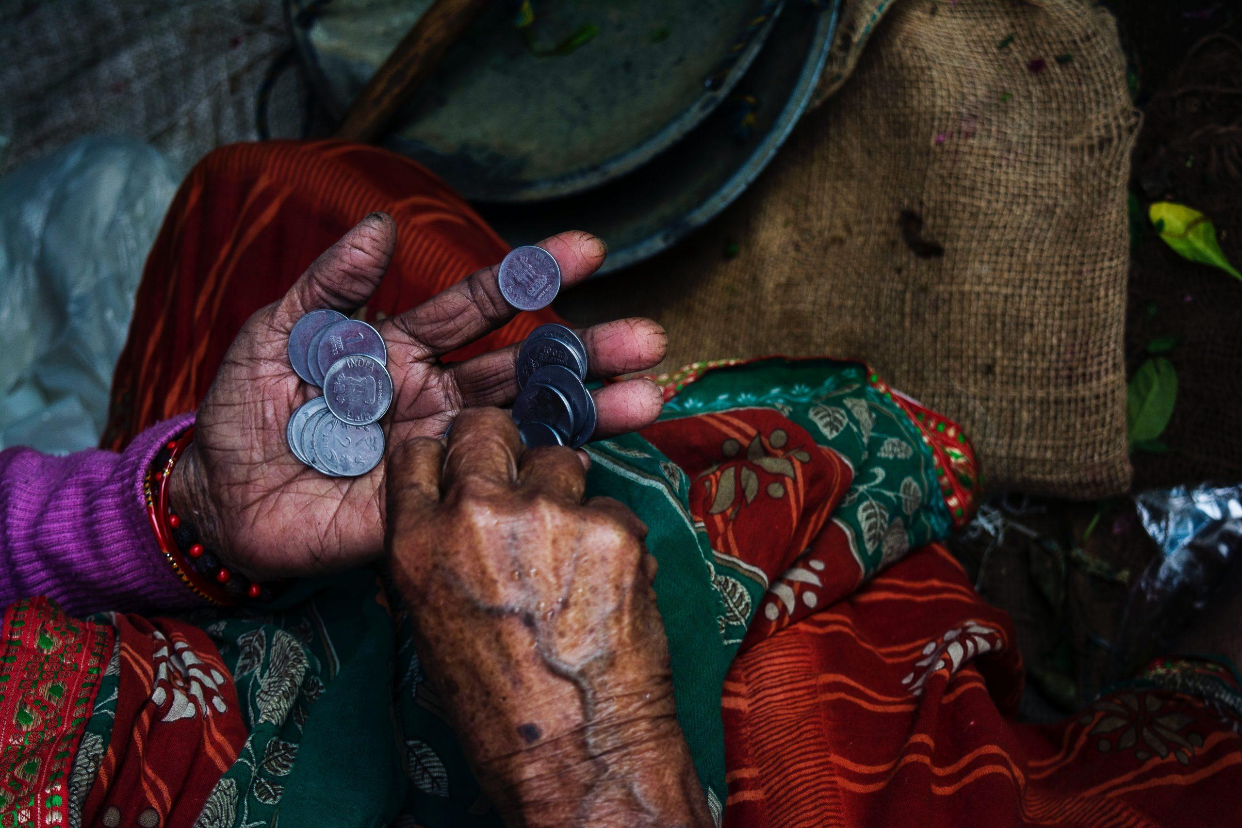 Pre charity sú mince dôležité