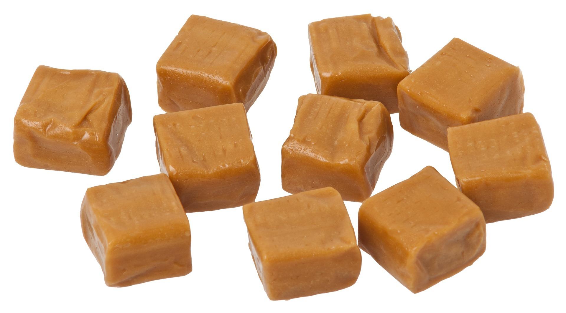 Švédske karamelky Kola
