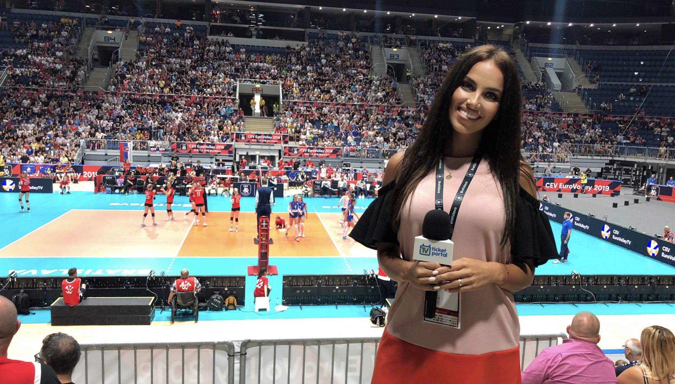 Simona Leskovská volejbal