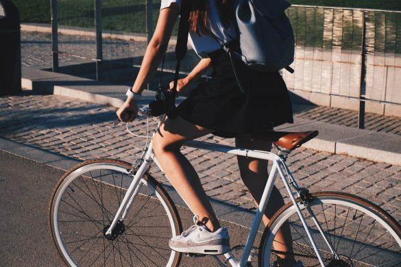 cyklista bicykel