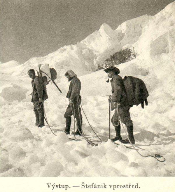 Výstup na Mount Blanc