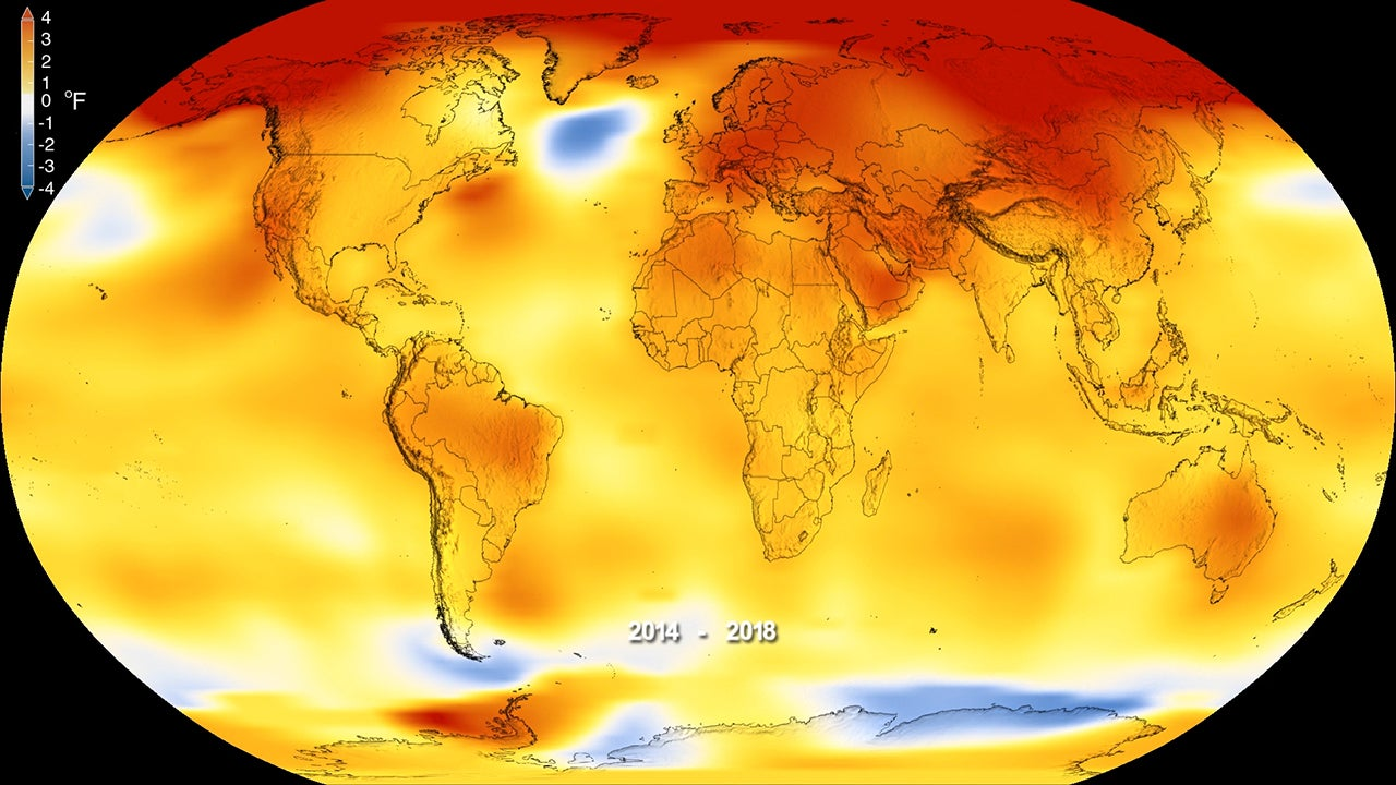 globálne otepľovanie