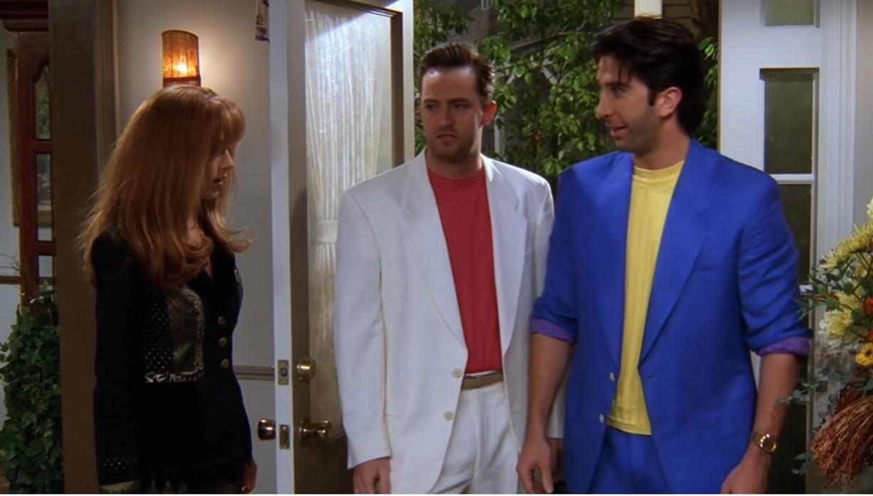 Stretnutie Rachel a Chandlera na deň vďakyvzdania
