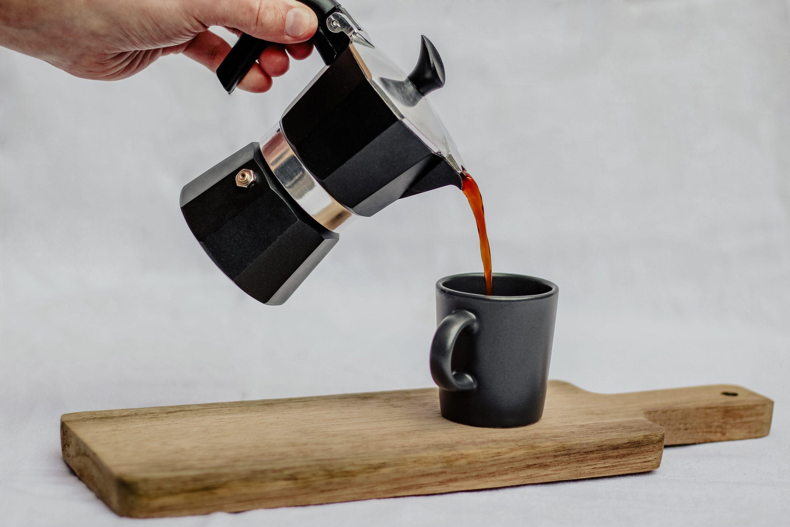 kofeín - zložka kávy