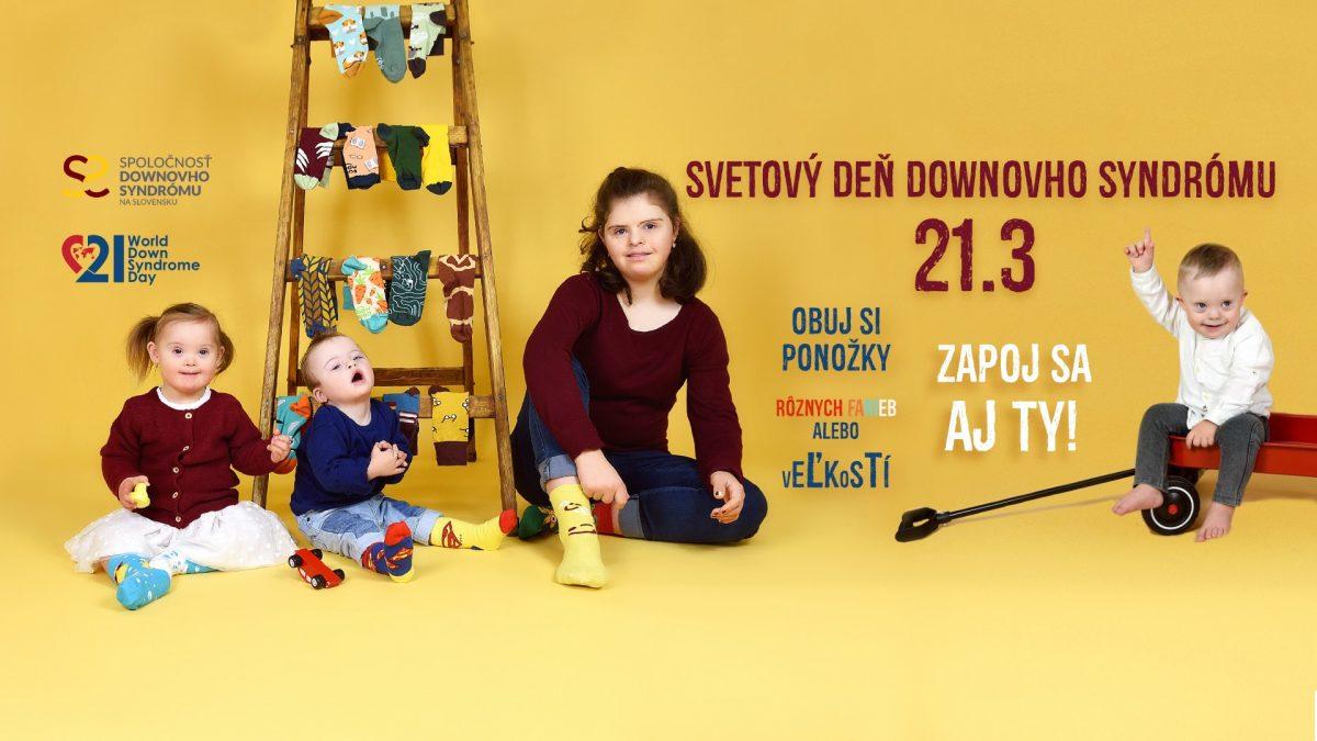 Dnes je Svetový deň Downovho syndrómu. Rozdielne ponožky sa stali jeho symbolom