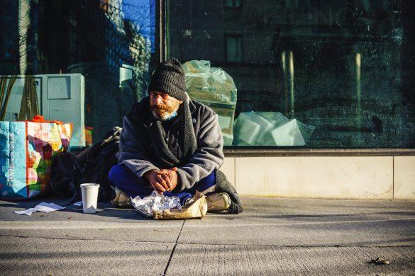 ľudia bez domova