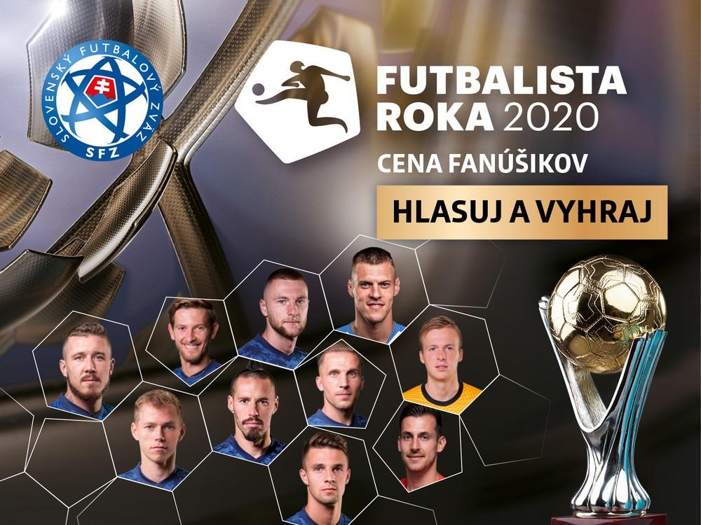 futbalista roka 2020
